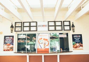 Anchors restaurant in River Island at Orange Lake Resort near Orlando, Florida