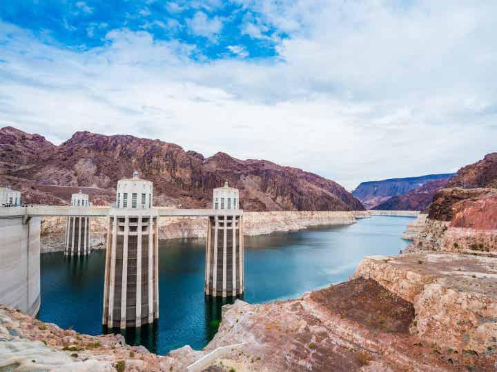 Hoover Dam in Las Vegas, Nevada.