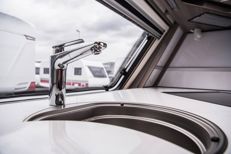 Sink in an RV