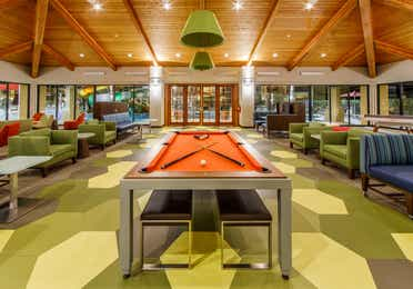 Large indoor area with pool table, table tennis, television and plenty of comfortable seating