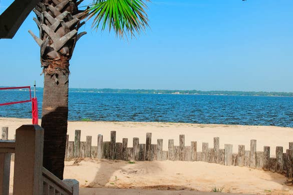 A view of Lake Palestine from our Villages Resort located in Flint, Texas.