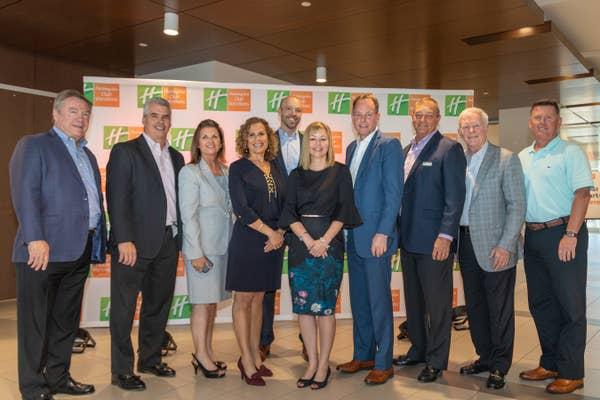A group photo of the HCV Executive team