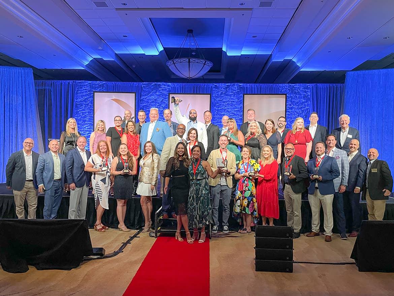 Holiday Inn Club Vacations team at the 2021 ARDA Awards Ceremony.