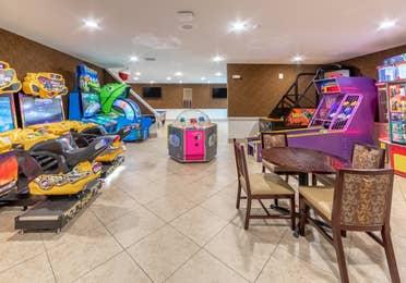 Arcade at Orlando Breeze Resort in Florida.