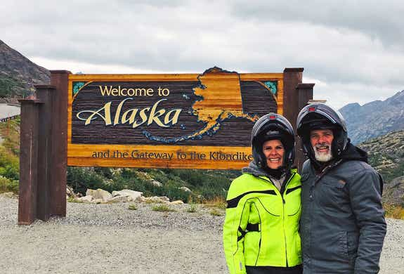 From Florida to Alaska on a motorcycle: Check!