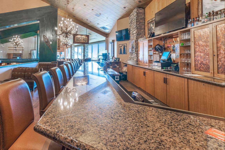 Bear Trap Bar at Tahoe Ridge Resort in Stateline, Nevada,