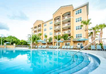 Outdoor pool at Cape Canaveral Resort