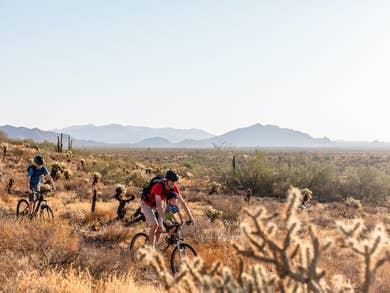 Hike the red clay trails of Arizona