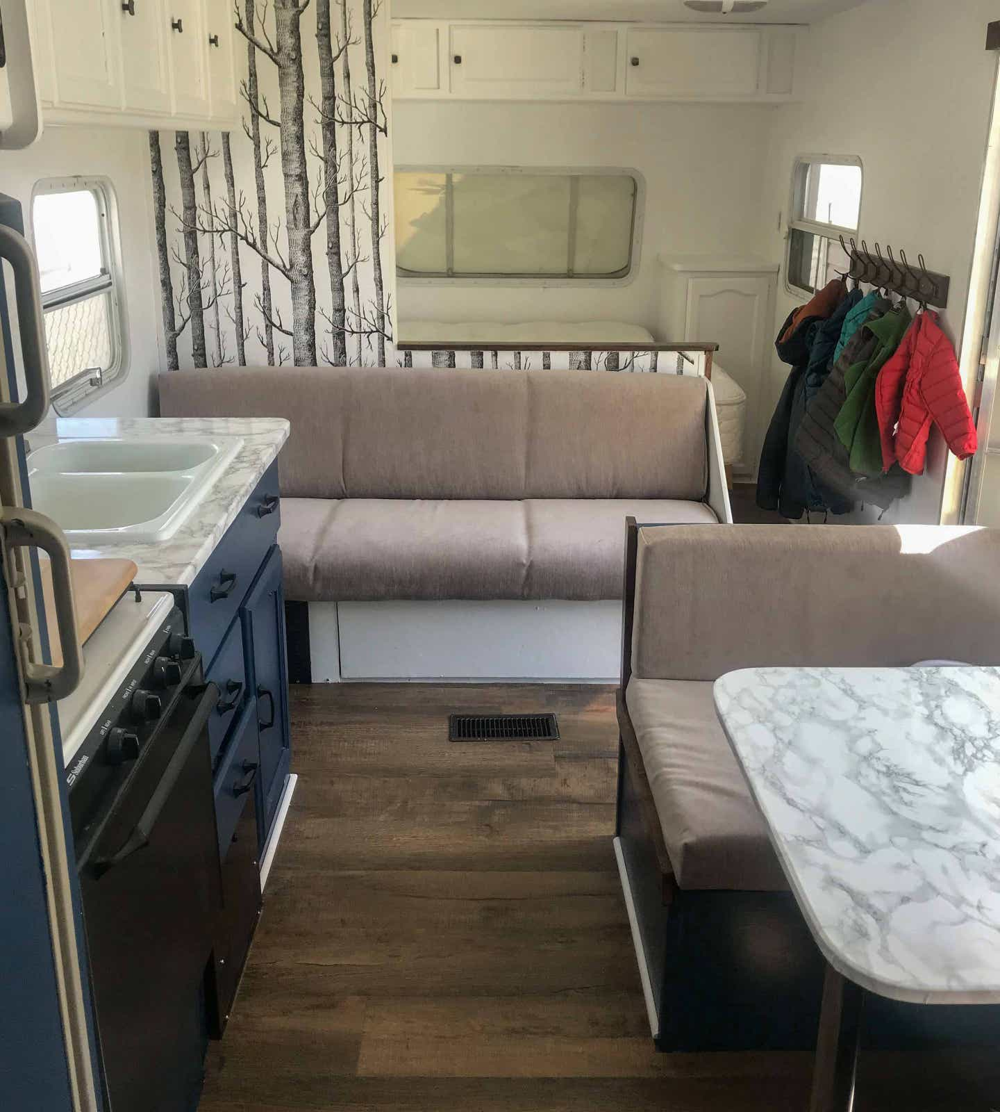 Kitchen in RV
