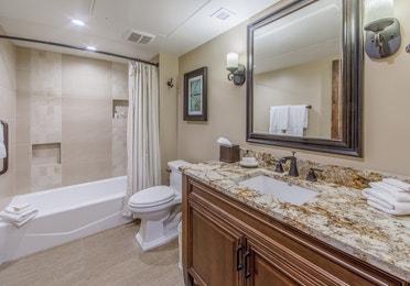 Bathroom in the Three-Bedroom Signature Villa at the Scottsdale Resort in Arizona