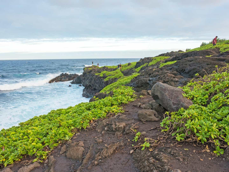 Haleakala cliffs