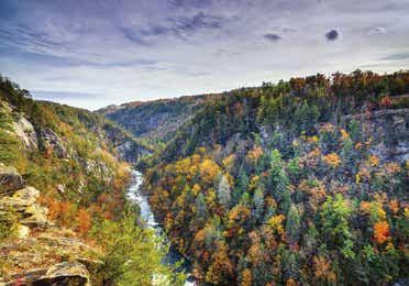 Tallulah Gorge near Clarkesville, GA.