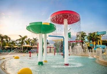 Splash zone at Cape Canaveral Resort.