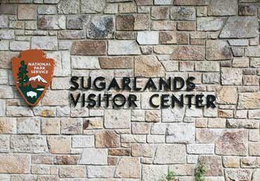 Sugarlands Visitor Center sign