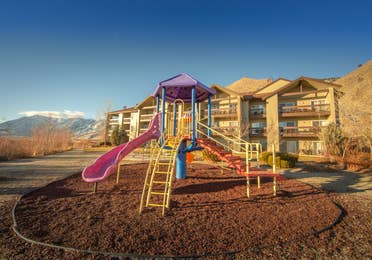 Children's playground at David Walley's Resort in Genoa, Nevada