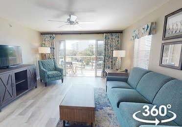 Two-bedroom villa at Cape Canaveral Beach Resort.