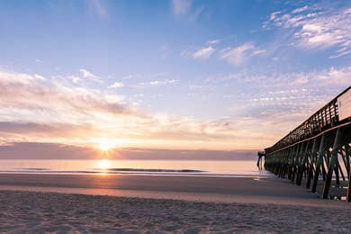 Myrtle Beach at sunset