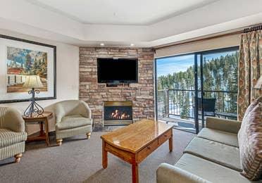 Resort accommodations at Tahoe Ridge Resort.