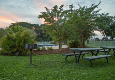 Picnic area at South Beach Resort