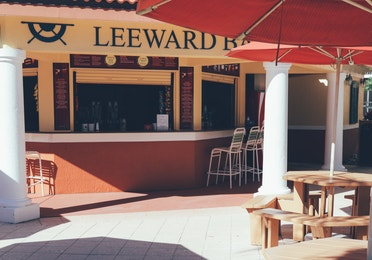 Leeward Pool Bar in River Island at Orange Lake Resort near Orlando, Florida