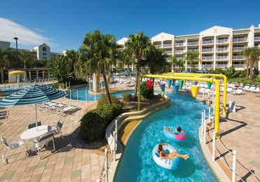 Lazy river at Cape Canaveral Resort