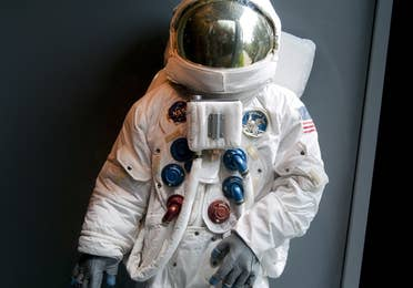 Astronaut suit at the American Space Museum in Titusville, Florida