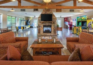 Activity center at Timber Creek Resort in De Soto, MO