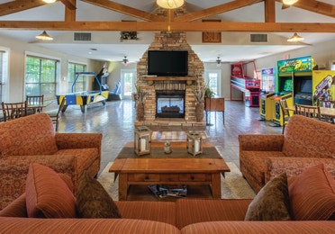 Activity center at Timber Creek Resort in De Soto, MO