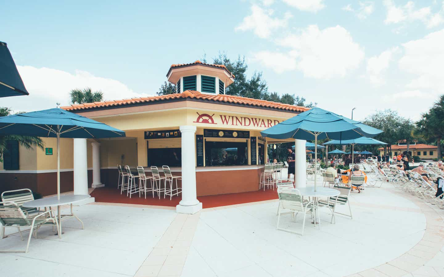 Windward Pool Bar in River Island at Orange Lake Resort near Orlando, Florida