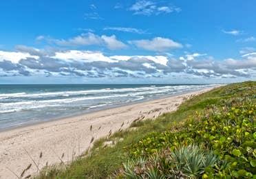 Cape Canaveral Beach near Orange Lake Resort in Orlando, Florida