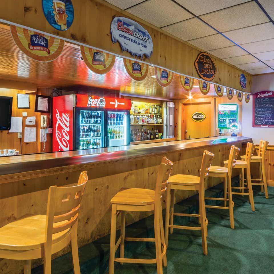 Beartree Bar at Oak n' Spruce Resort in South Lee, Massachusetts.