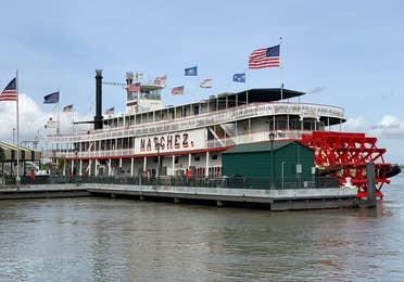 Woldenburg Riverfront Park near New Orleans Resort in Louisiana.