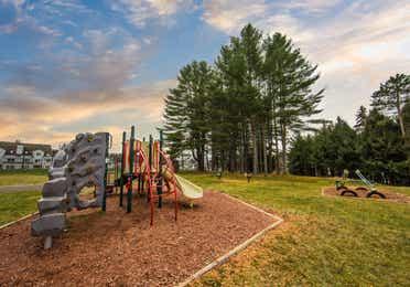 Playground at Mount Ascutney Resort in Brownsville, VT