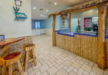 Seaside Snack Bar in Galveston Seaside Resort.
