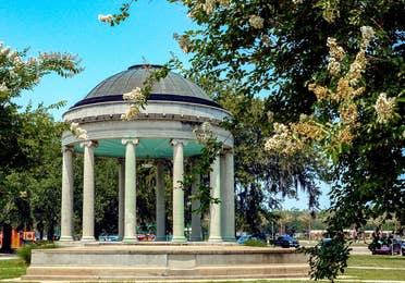 City park near New Orleans Resort in Louisiana.