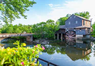 A mill in Pigeon Forge, TN