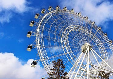 The wheel at Icon Park in Orlando, Florida
