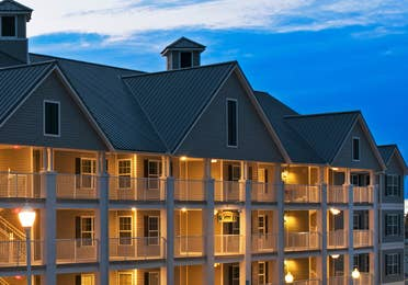 Property building at Hill Country Resort in Canyon Lake, Texas.
