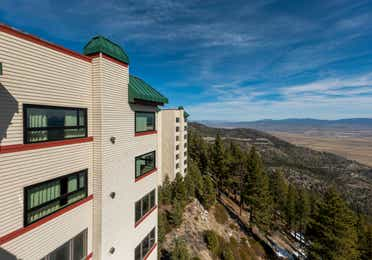 Exterior view of Tahoe Ridge Resort in Stateline, NV