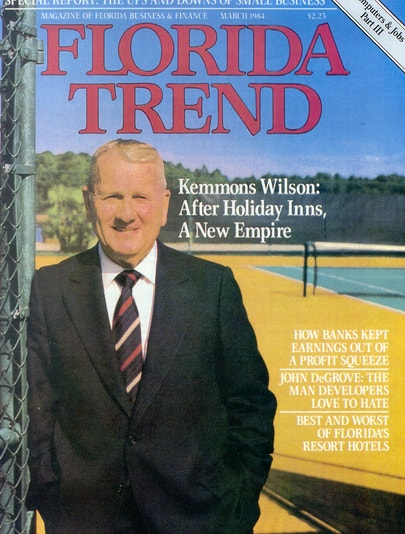 Kemmons Wilson on the cover of Florida Trend magazine