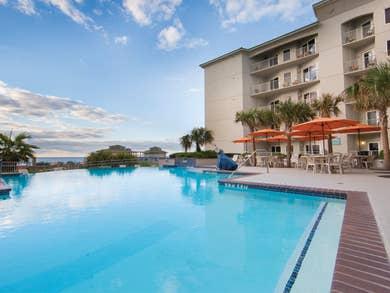 Pool at Galveston Beach Resort