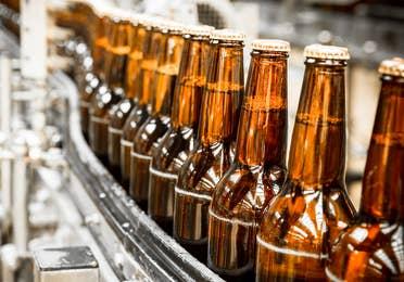 Image of beer production factory near Lake Geneva Resort, Lake Geneva, WI.