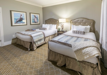 Guest bedroom in a four-bedroom Signature Collection villa at South Beach Resort