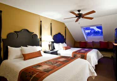 Guest bedroom in a three-bedroom villa at Mount Ascutney Resort in Brownsville, VT