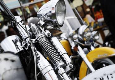 Image of a Harley at the Harley-Davidson® Museum near Lake Geneva Resort, Lake Geneva, WI.
