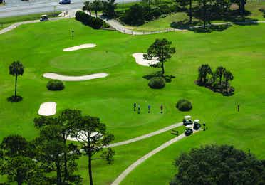 Golf course in Panama City Beach