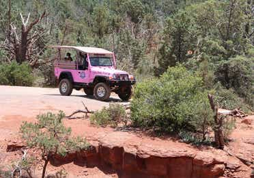 Pink Jeep Tour near Scottsdale Resort.