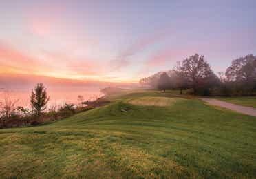 Golf course near Timber Creek Resort in De Soto, MO