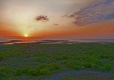 Gulf of Mexico near Galveston Seaside Resort