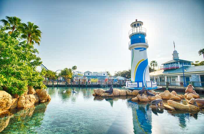 Exterior view of SeaWorld Orlando